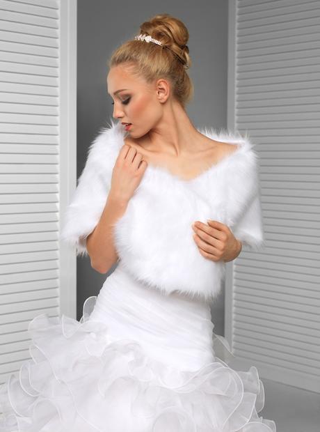 svatební pelerína,