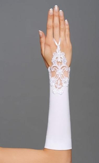 svatební rukavičky,