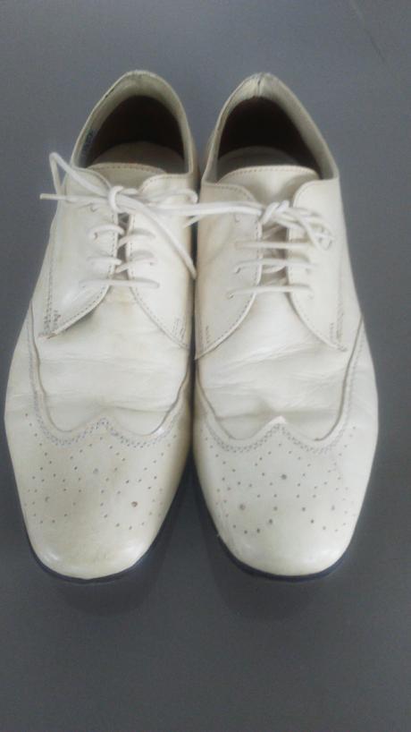 Stýlové svadobné topánky, 43