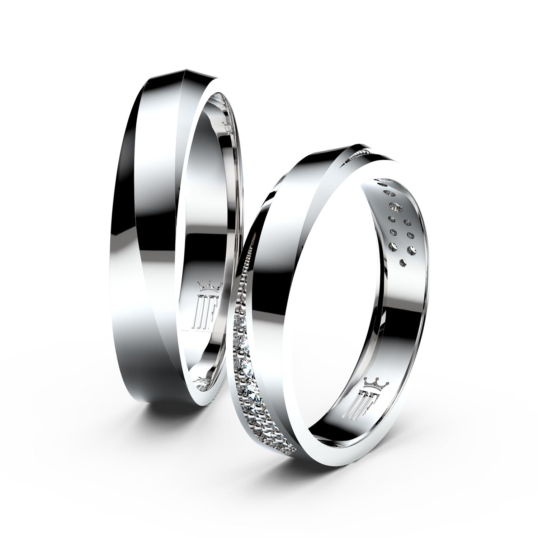 Snubni Prsteny Z Bileho Zlata Danfil 27 641 Kc Svatebni Shopy