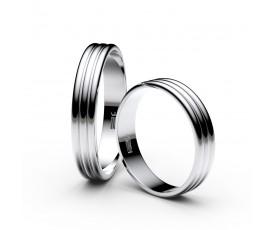 Stříbrné snubní prsteny Danfil,