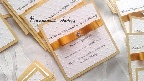 Svatební oznámení Diamont,