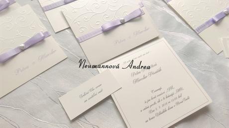 Svatební oznámení Monika,