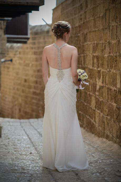 Elegantní jednoduché šaty Pronovias Baile smetanov, 38