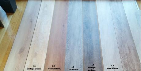 Vinylovou podlahu se zámkem na HDF desce,