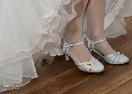 Biele svadobné topánky , 38