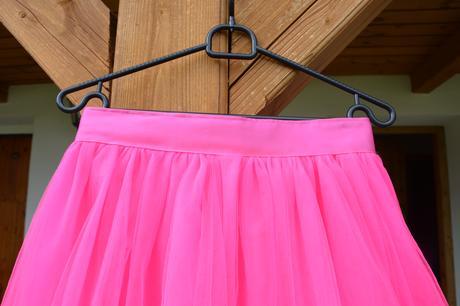 Tylové sukně pro družičky,