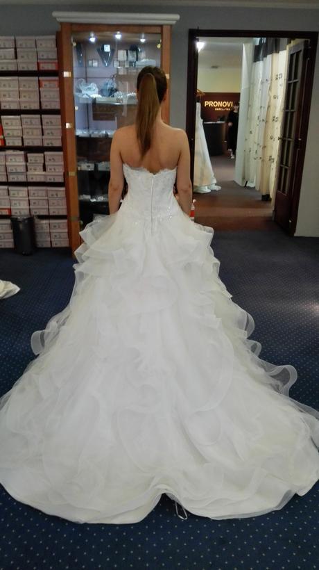 Svadobne šaty Pronovias Leante, 34