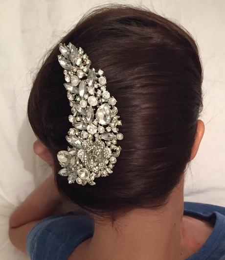Luxusná ozdoba do vlasov,