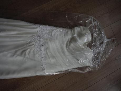 Svatební šaty AMY vel. asi 38, 38