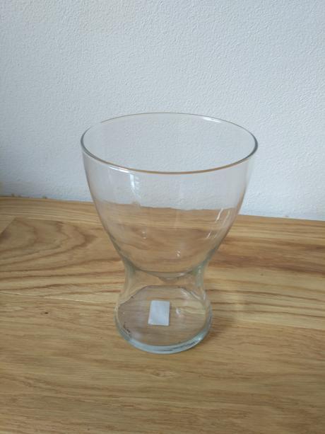 Skleněná váza,