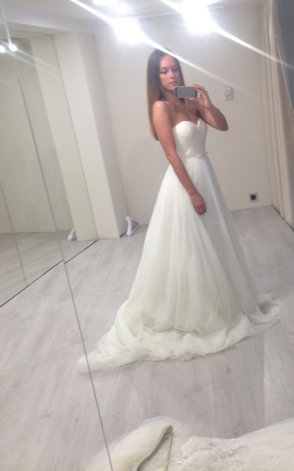 20744983f8c4 Exkluzívne svadobné šaty wem veľkosť 36 38