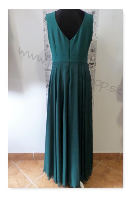 Spoločenské šaty smaragdové, 46
