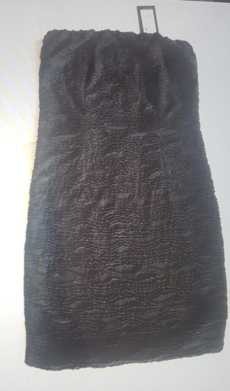 Cerne elasticke saty, 40