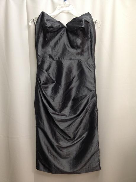 Luxusní saténové šaty s podšívkou, 38