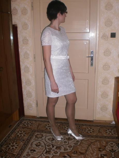 čipkované šaty , 40