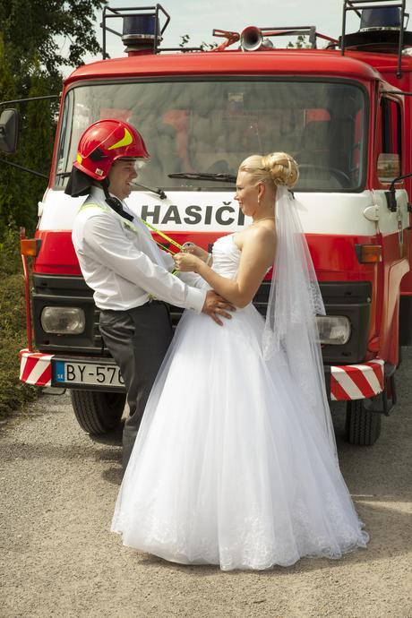 Svadobné šaty veľkosť 36 - 38 , 38