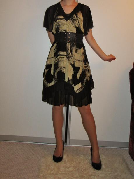 Kvalitné šaty - uni veľkosť, S, M, L, XL, M
