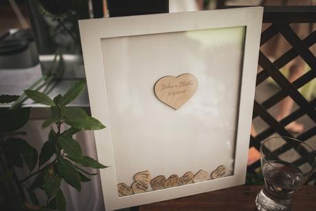 Svatební kniha hostů či svatební strom,