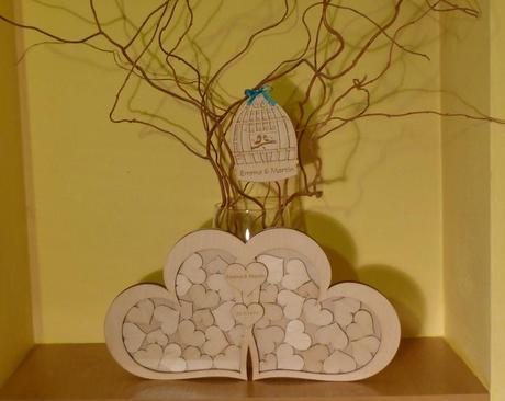 Svatební kniha hostů nebo strom přání,