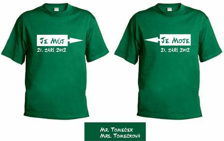 Vyšívané kšiltovky, trička, polokošile ,