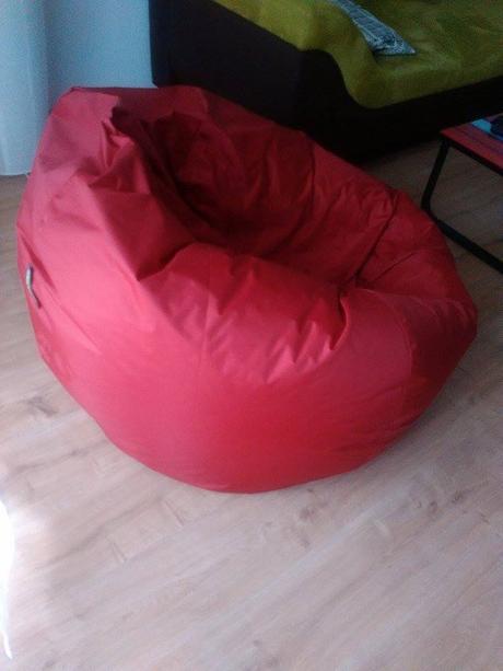 Moderný Tuli vak na sedenie-lenošenie-nepouživany,
