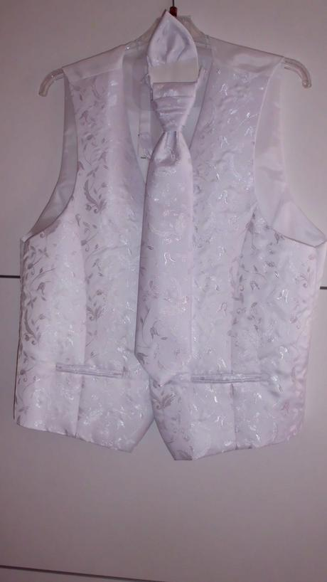 svadobná vesta + kravata, 52