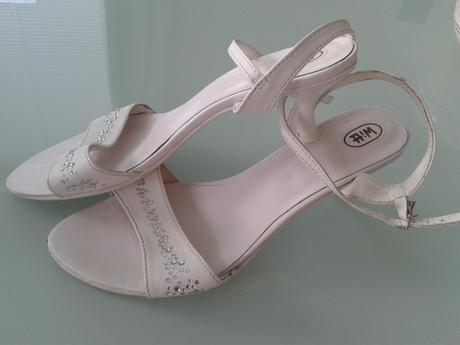 Svadobné sandále, 40
