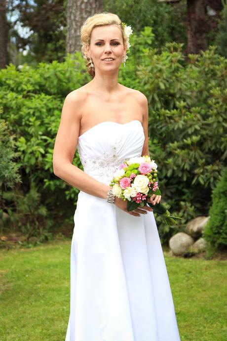 Korzetove svadobne saty, 38