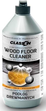 CLASSEN čistič na drevené lakované podlahy ,