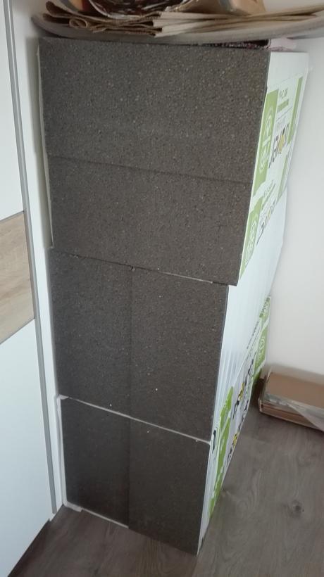 Fasádny polystyrén Isover greywall hrúbka 25 cm,