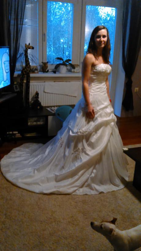 Svatební šaty vel.38, 38