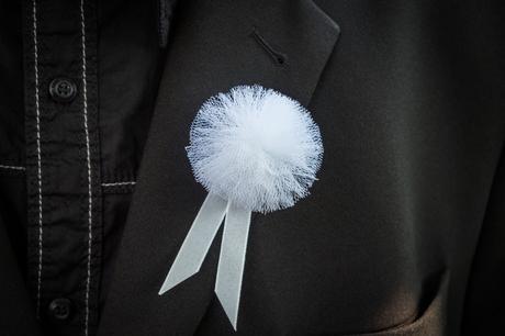 Bombuľkové svadobné pierka,