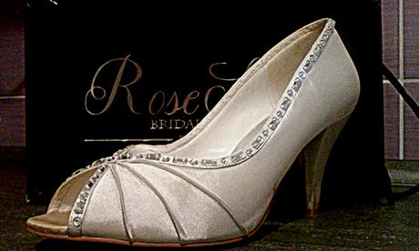 botičky Rose scent bridal shoes Paris vel. 39, 39