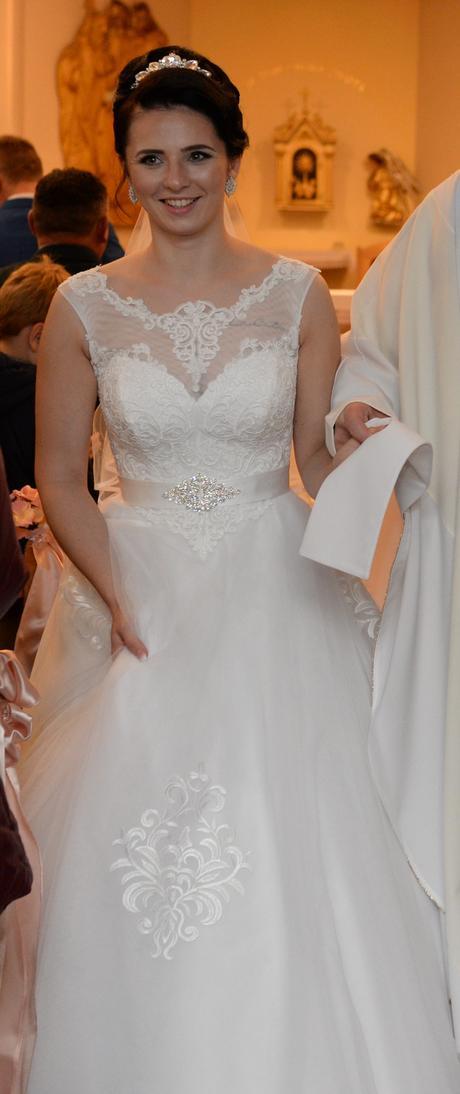 svadobné šaty 36-38, 38