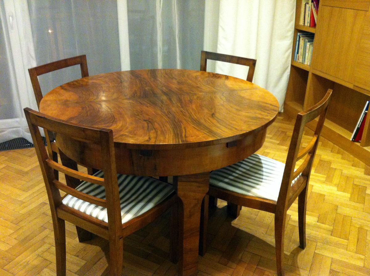 Art Deco Stoel : Gesigneerde art deco stoel met originele zitting te koop