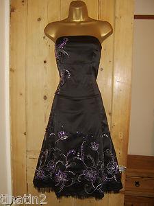 Saténové šaty JANE NORMAN, 38