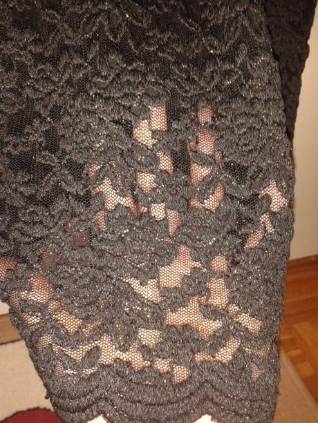 čipkované šaty Mango, 36