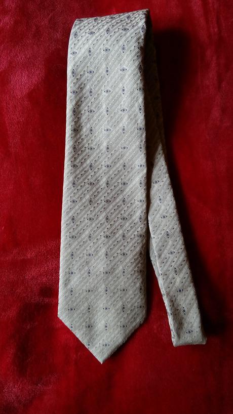 Pánska zlatá kravata,