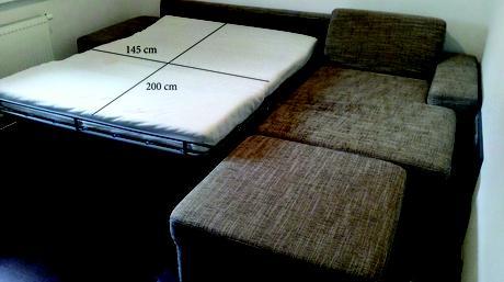 rohova rozkladacia sedacka,
