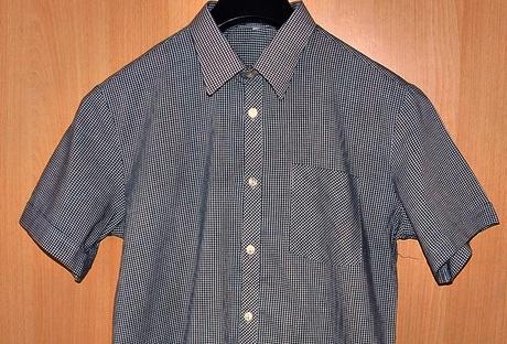 kostkovaná košile, M