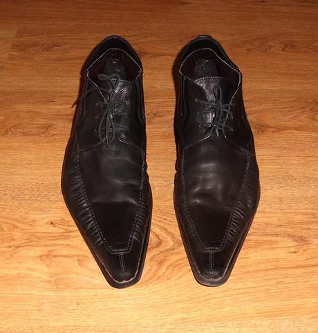 kožené společenské boty Romano Mazzante vel.43, 44