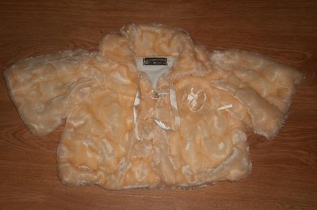 kratší teplejší kabátek 116/122, 116
