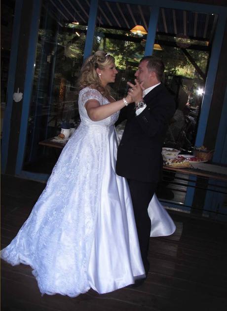 Luxusní svatební šaty , 42