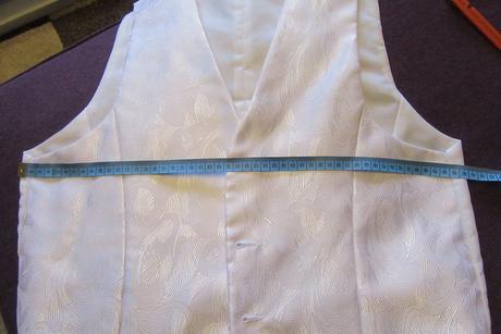 Svatební vesta, regata, kapesníček, košile, 48