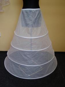99a8c6f40c6f Bílá pětikruhová spodnice pod šaty Neznačková – Bazar. Bílá kruhová  spodnička neznačková – Bazar Omlazení.