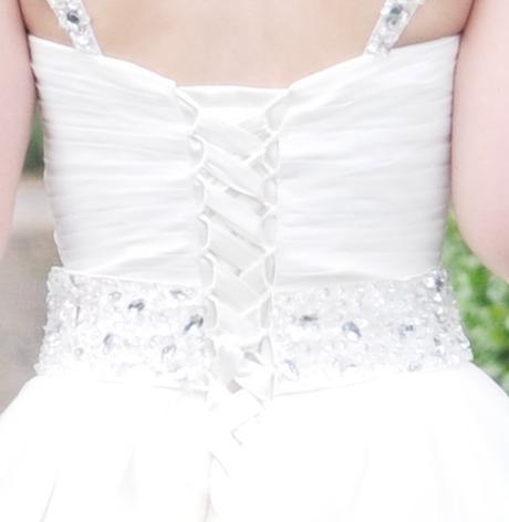svatební šaty ivory vel. 36-38-., 36