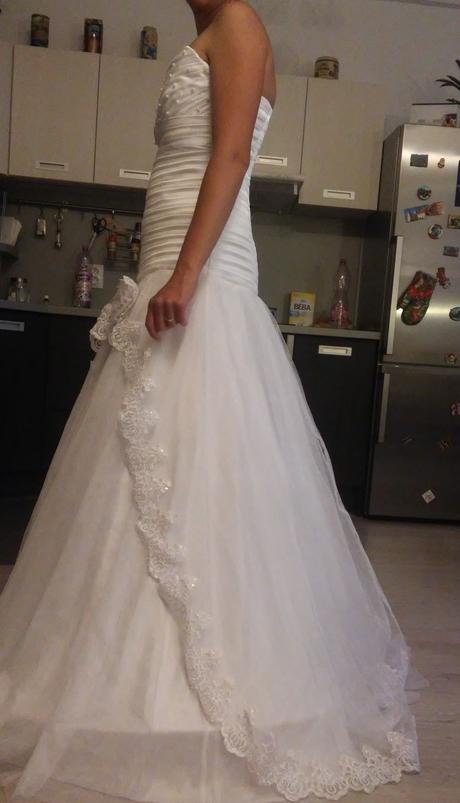 Svadobné šaty 36-38-40, 38