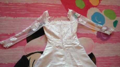 Svadobné šaty pre nižšiu nevestu, 36
