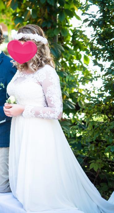 Svadobne šaty od 38-42, 38
